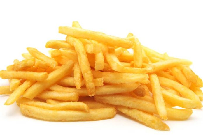 French fries are good in fiber