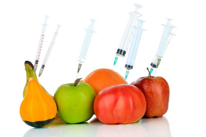 pesticides in diet can cause skin problems