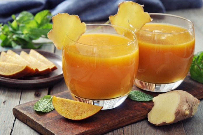 Mango and ginger help reduce weight and pain