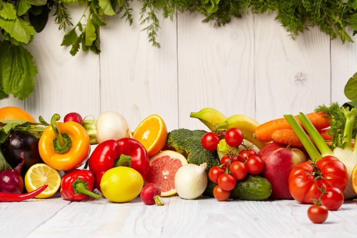 This diet doesn't have large amounts of fruits and vegetables