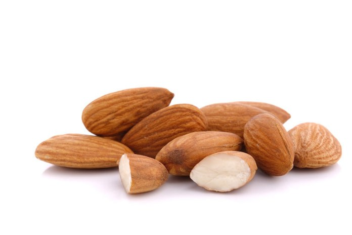 Almonds can help with concentration