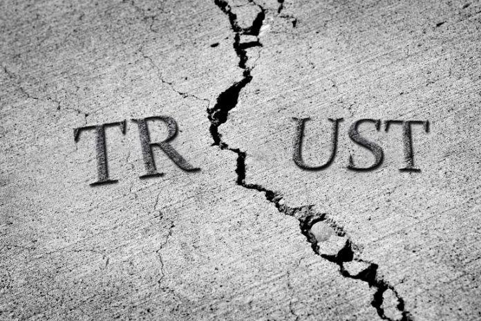 Infidelity breaks the mutual trust