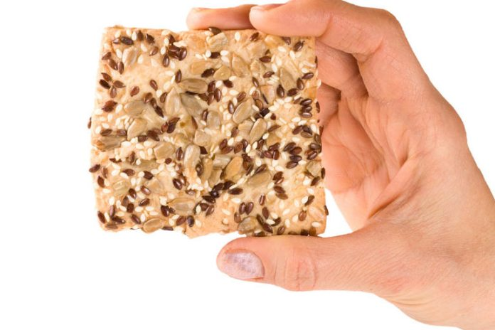 Flax sprouted whole grain bread is loaded with nutrients and low in carbs