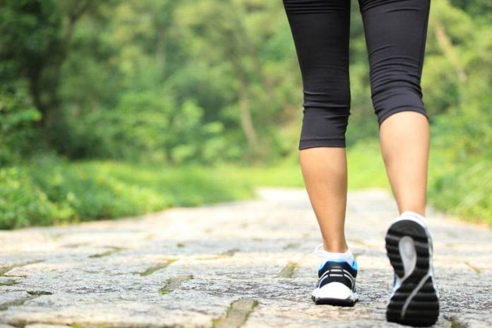Light aerobic exercise helps