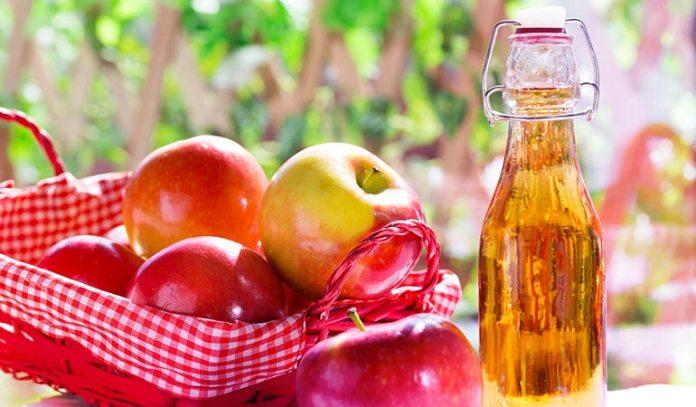 (Apple cider vinegar has antibacterial and antiseptic properties
