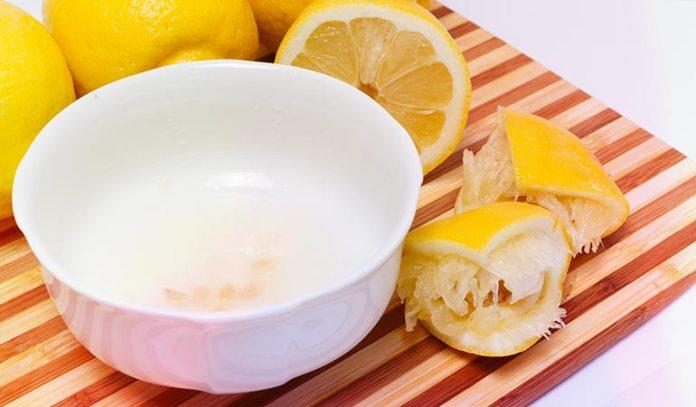 lemon juice lowers pH and has antibacterial properties)