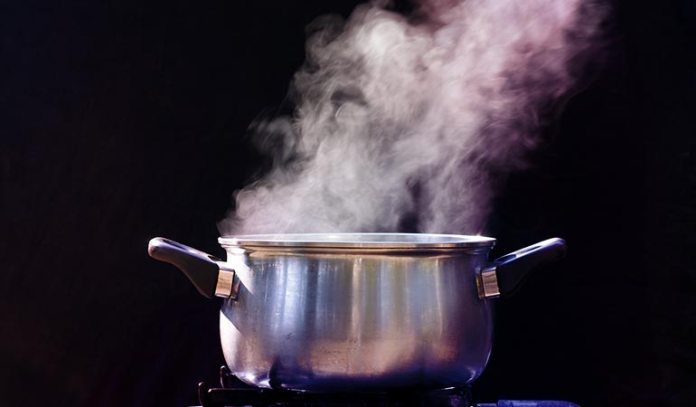 Steam thins mucus and reduces inflammation