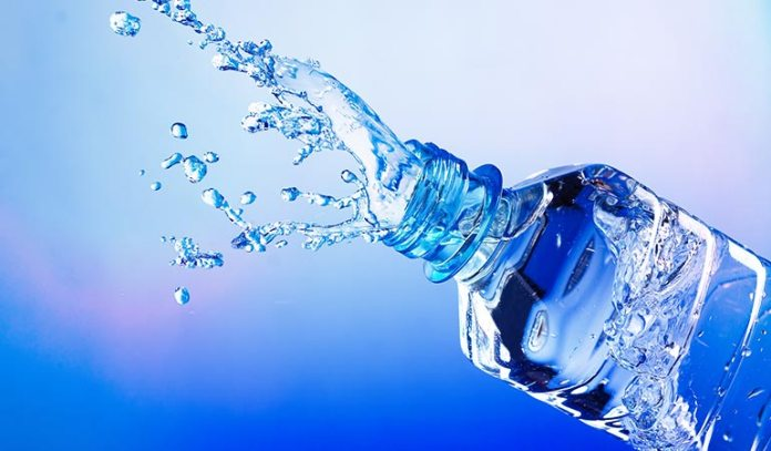 (Water lushes out toxins)