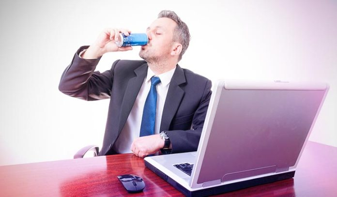 Energy drinks may keep your blood pressure elevated even after six hours.