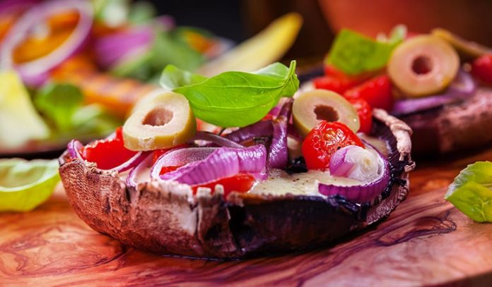 Portobello Mushrooms Make The Perfect Burger Buns