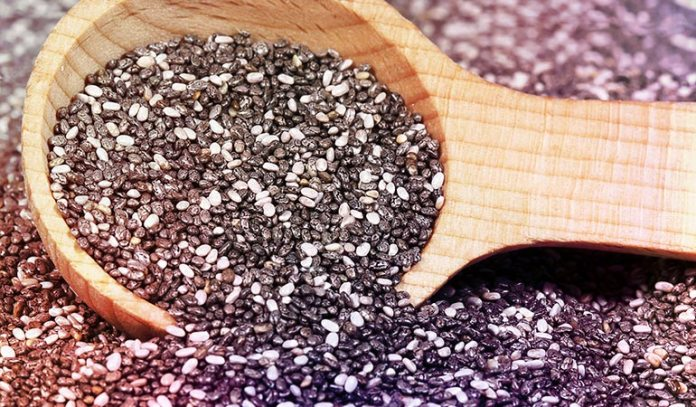 Soaked chia seeds can substitute eggs easily