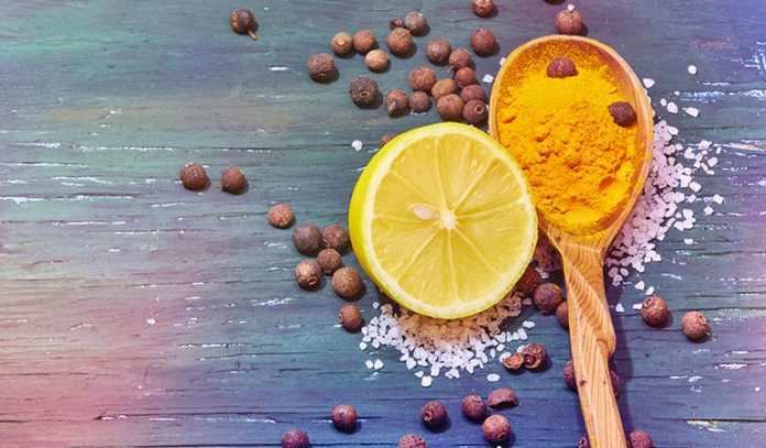 Turmeric paste with lemon juice and honey is good for asthma.