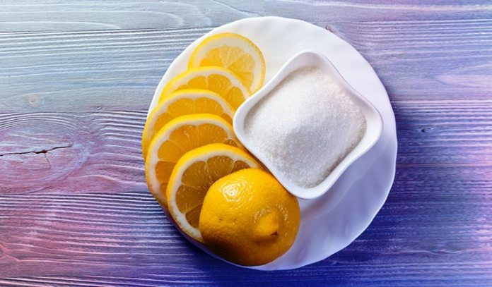 Sugar and lemon can be used to get rid of unwanted hair and to exfoliate dead skin