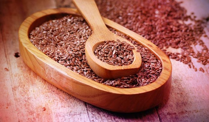 (Flax seeds contain 9 grams of protein per 50 grams
