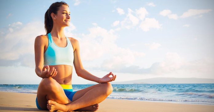 Practicing yoga improves the health of your heart