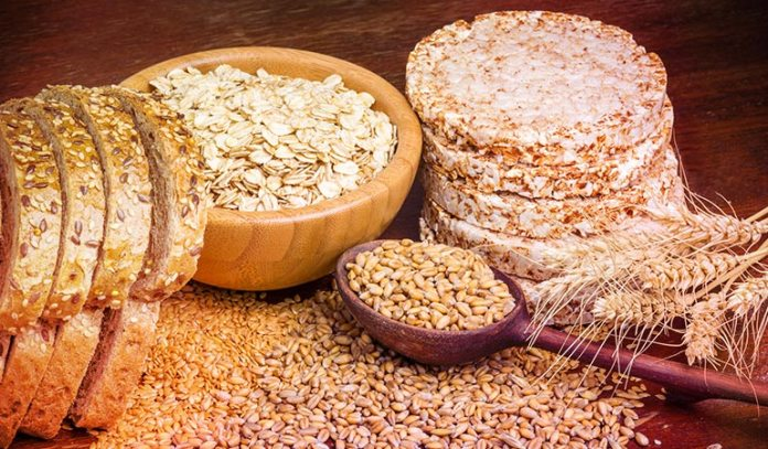 Whole-grain cereals, breads, and pastas that have been fortified are rich in iron content
