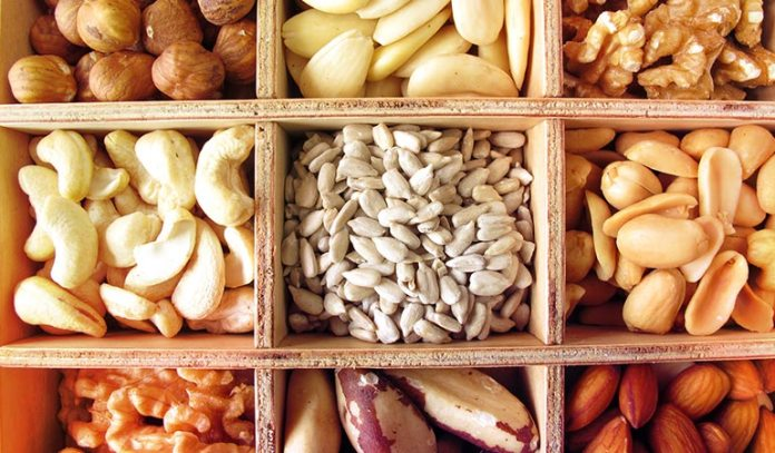 Nuts are high in vitamin E content, and they keep the vaginal free from dryness.