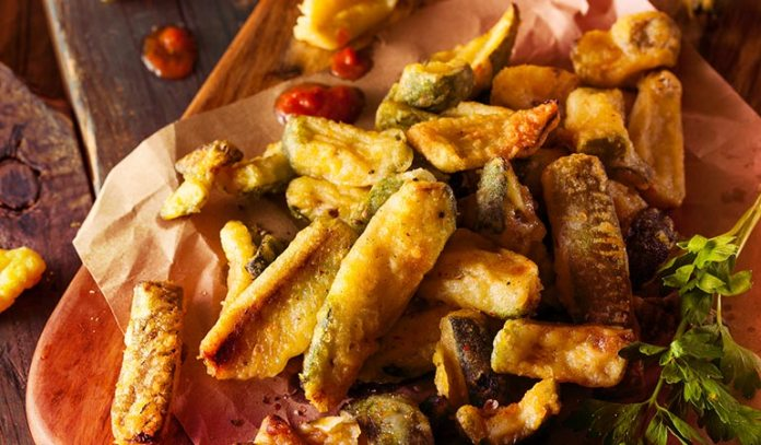 Potatoes Out; Zucchinis In