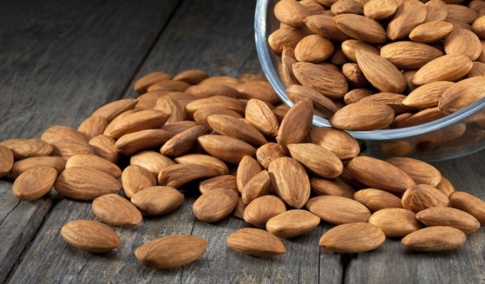 Almonds can help treat knee pain