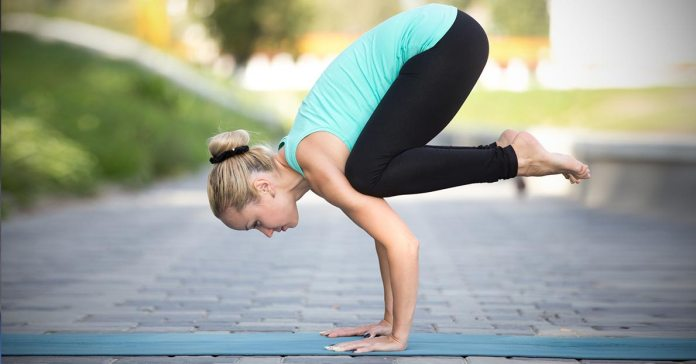 Bakasana is a compact asana that levels the arms and strengthens them