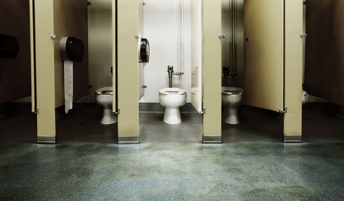 Germs have the maximum space to settle down in the bathroom