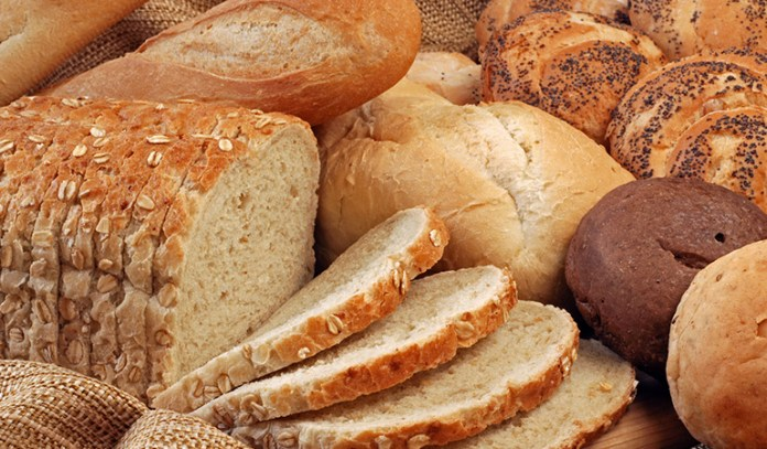 Bread can be consumed in the morning