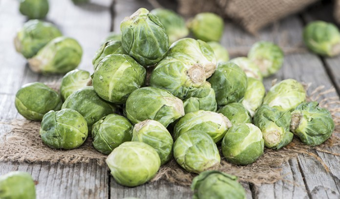Brussel sprouts help with knee inflammation