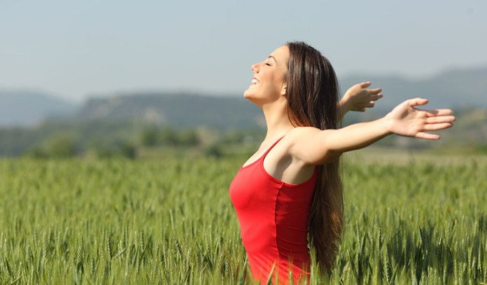 Deep breathing is an effective way to deal with anxiety