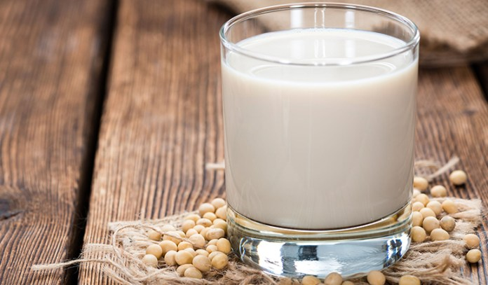 Soy milk proteins depigment the skin