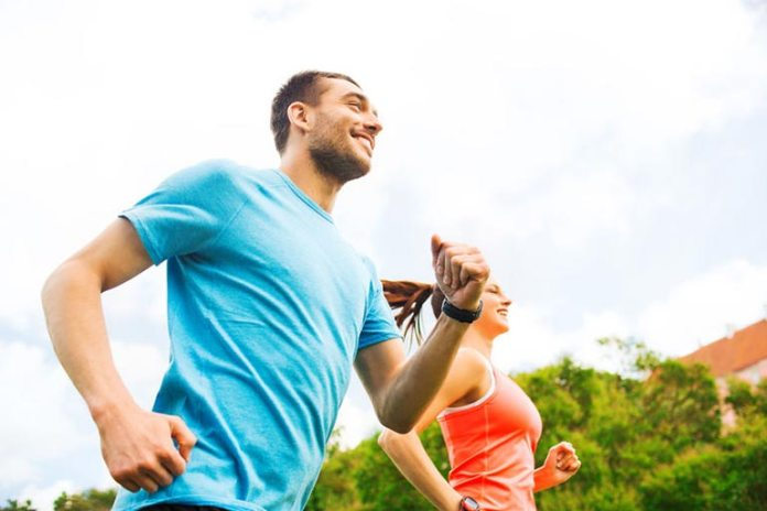 If you can talk while exercising, the workout is moderately intense.