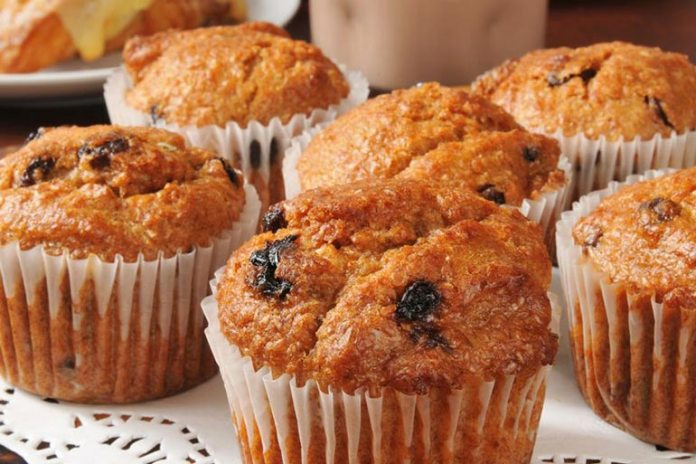 Raisins In Baked Goods Like Mufiins Are A Healthy Snack