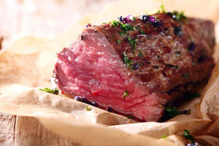 lean meat for a healthy breakfast