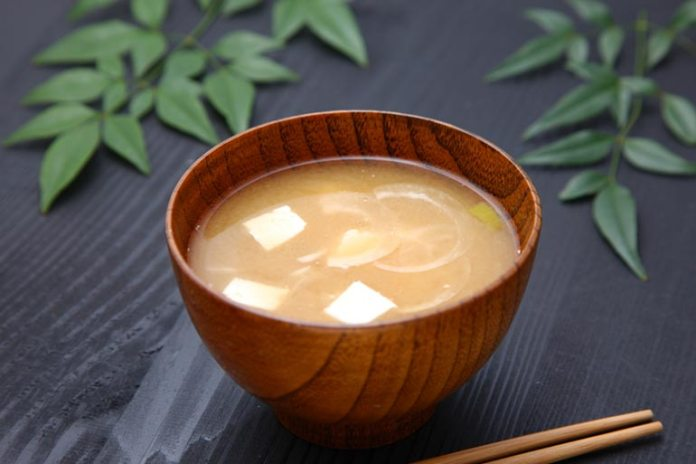 Yogurt whey can be added to miso soup for better taste and texture