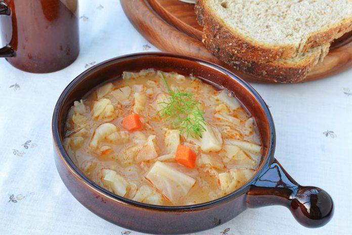 simple cabbage soup recipe