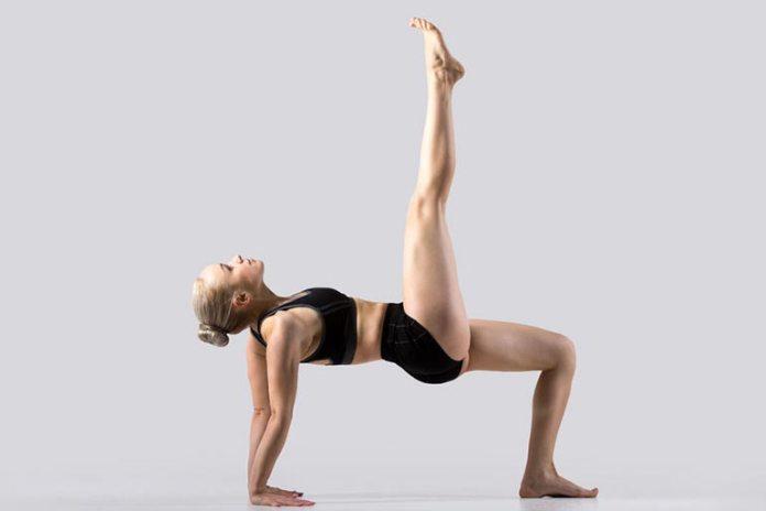 The upside-down four-legged crawl mixes exercises
