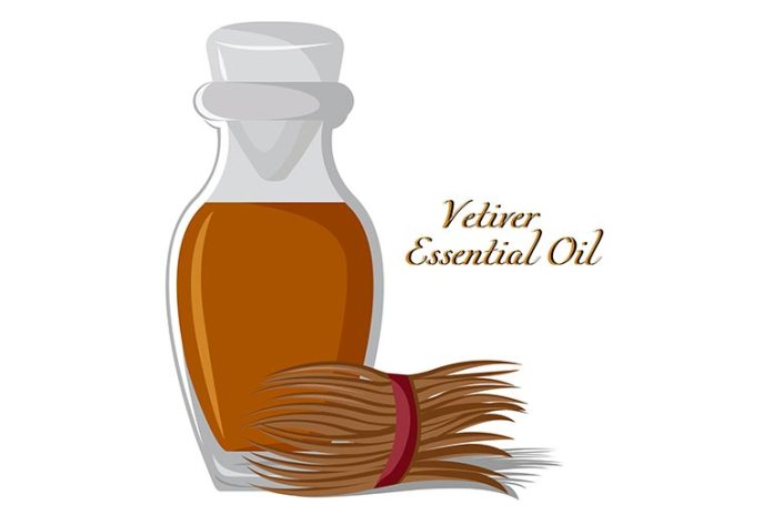 Vetiver essential oils is toxic to termites