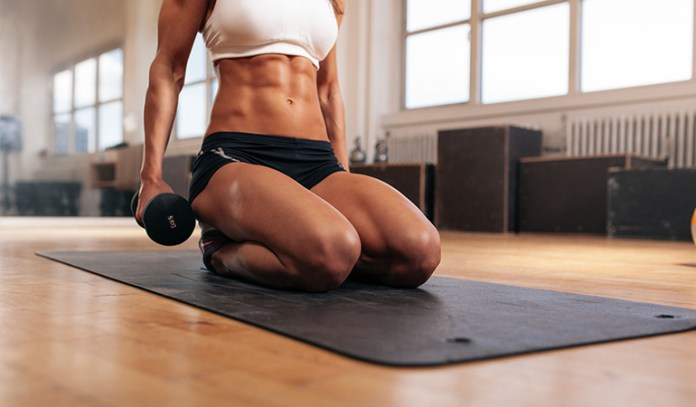 Exercise and weight training can help burn the calories