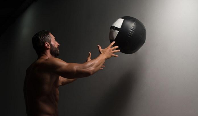 Medicine ball throws will increase your baseball and softball