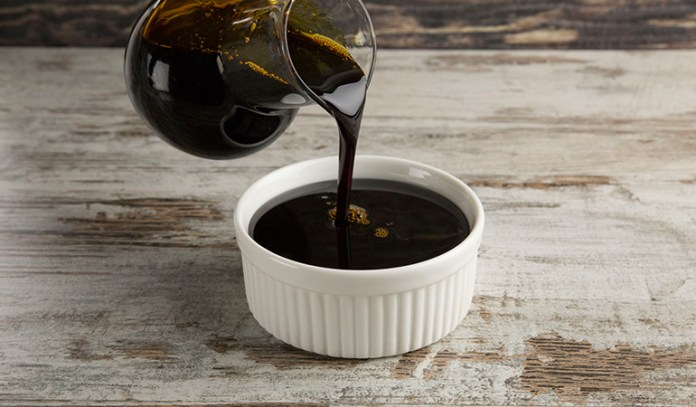Molasses and baking soda make a great alternative for baking powder