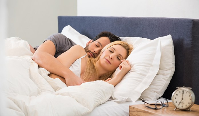 Sex helps improve sleep