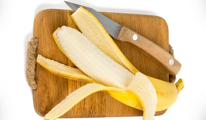 Banana peel on its own is great acne remedy