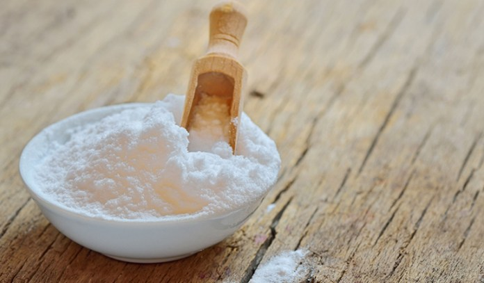 Potato and baking soda for skin discoloration