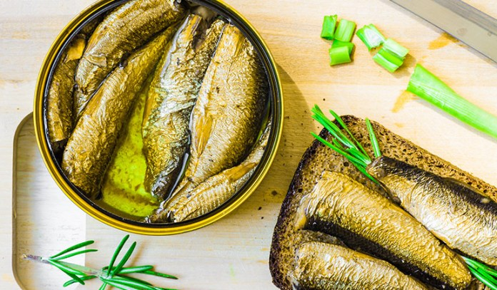 Look for low-sodium canned sardines