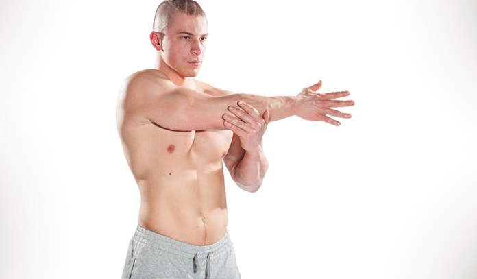 It is recommended to put your targeted muscle group through some intense stretching right after you've completed your workout.