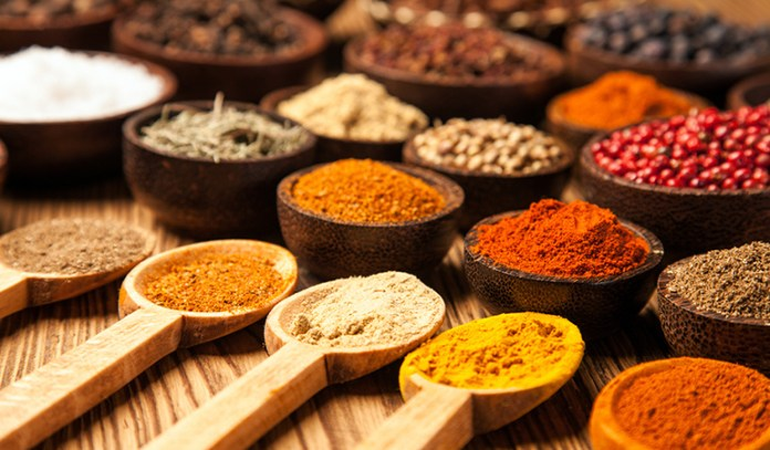 A little dash of spice can boost the flavor of dishes and your health
