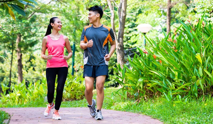 Pick up the pace gradually to build stamina