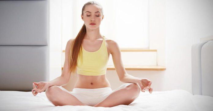 Yoga can give you the energy to get through the day)