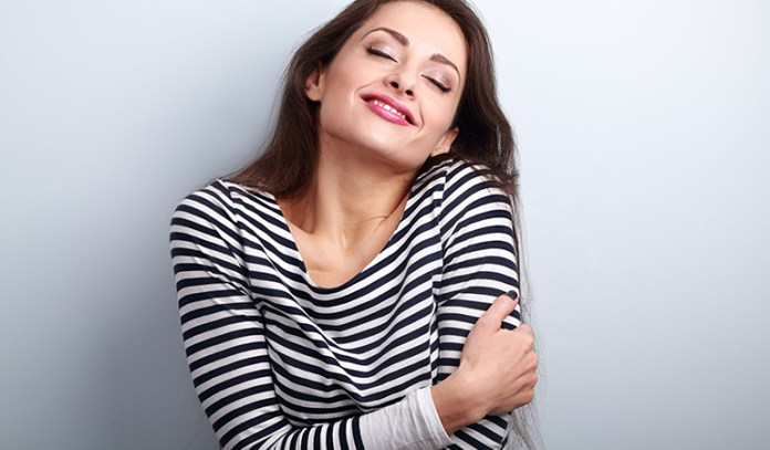 The sudden influx of estrogen in your body during ovulation will leave you in the best of moods.