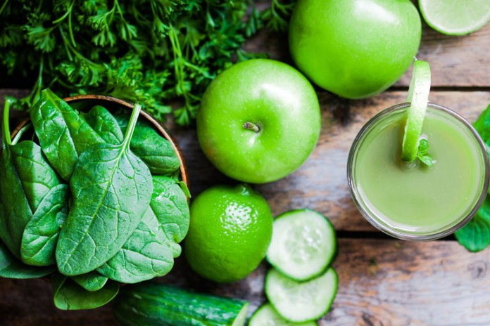 Blending and juicing your vegetables is a quick and healthy way to eat your greens.