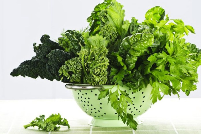 Leafy greens provide you with an alternative source of calcium